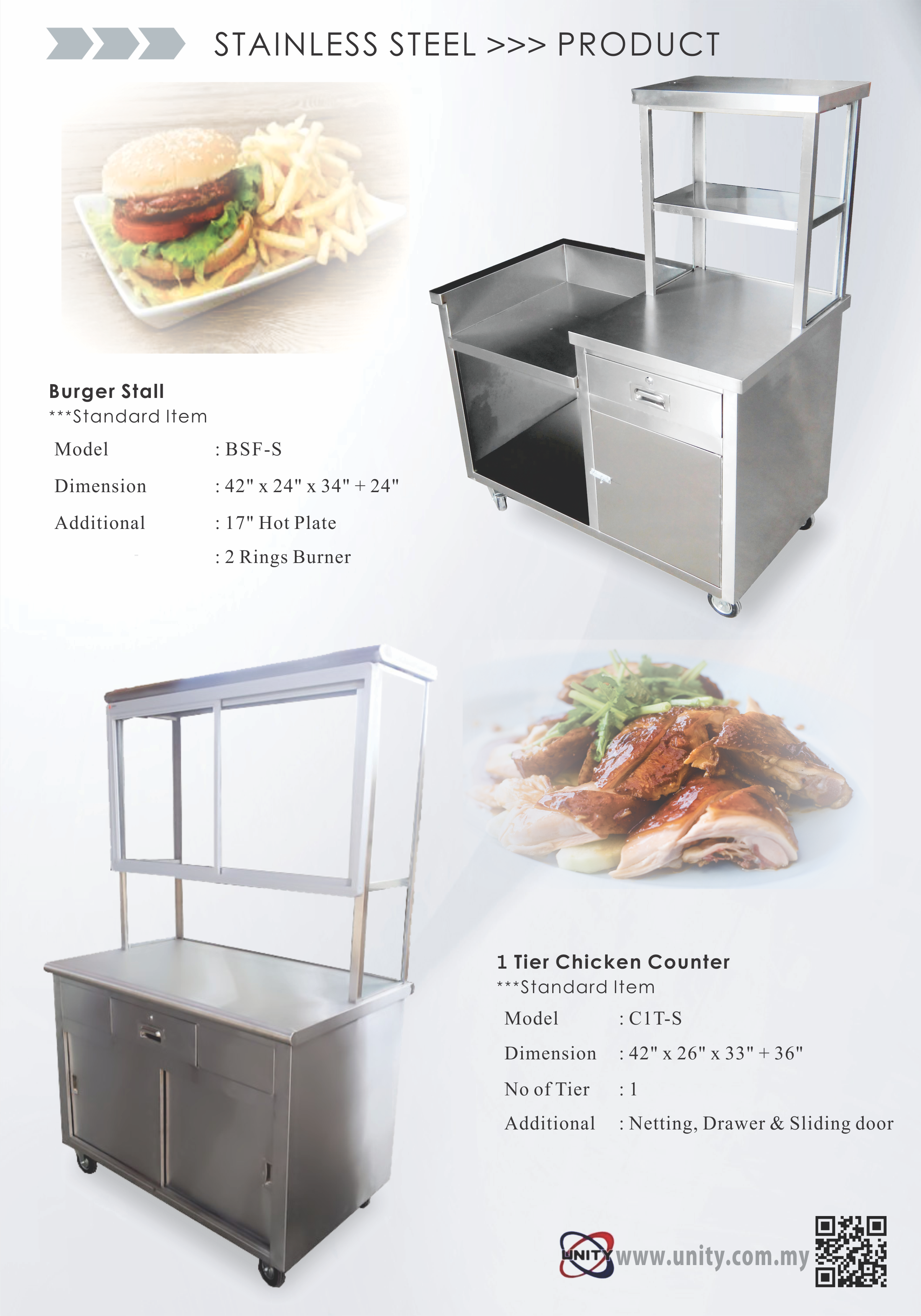 Burger Stall & Chicken Counter
