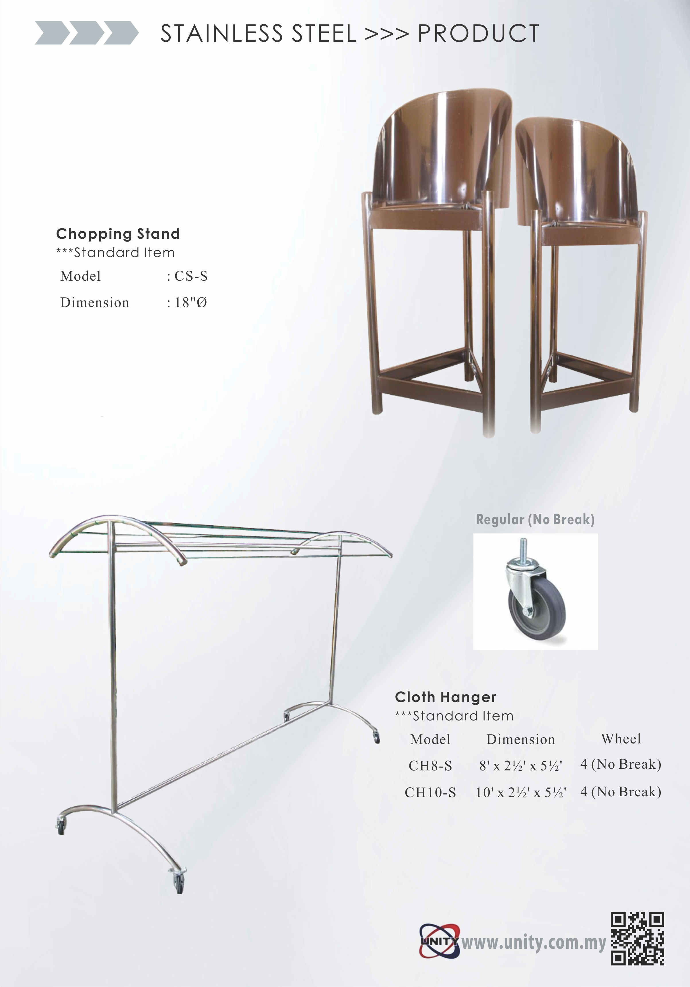 Chopping Stand & Cloth Hanger